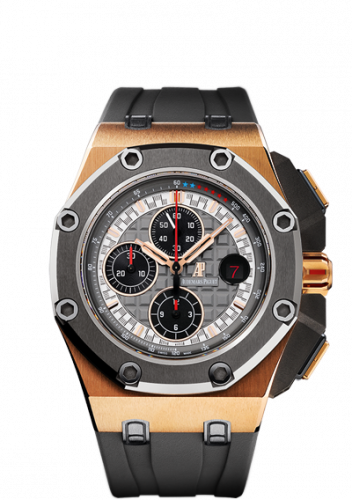 Audemars Piguet 26568OM.OO.A004CA.01 : Royal Oak Offshore 26568 Schumacher Pink Gold
