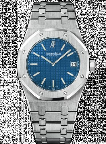 Audemars Piguet 15202ST.OO.0944ST.03 : Royal Oak Extra-Thin Stainless Steel / Blue