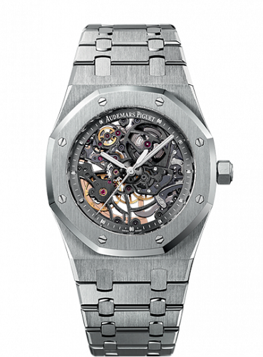 Audemars Piguet 15305ST.OO.1220ST.01 : Royal Oak Openworked Selfwinding Stainless Steel