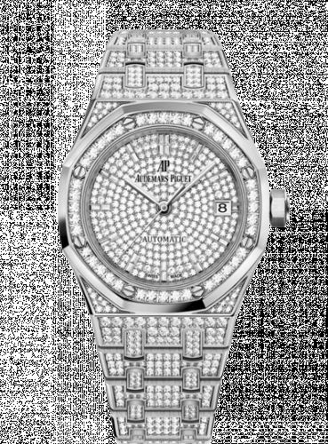 Audemars Piguet 15452BC.ZZ.1258BC.01 : Royal Oak 15452 Selfwinding White Gold / Diamond / Diamond