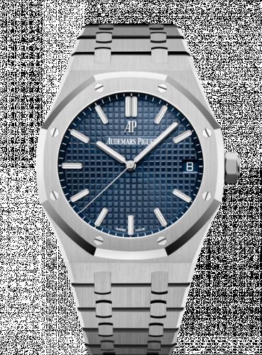 Audemars Piguet 15500ST.OO.1220ST.01 : Royal Oak 15500 Stainless Steel / Blue