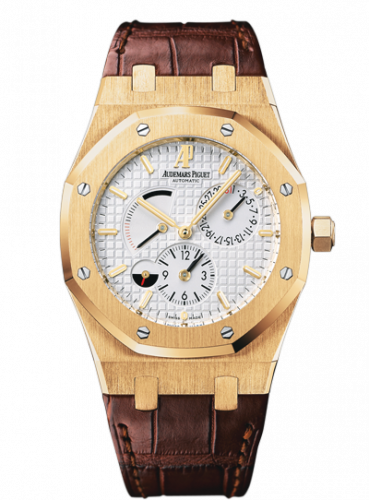 26120BA.OO.D088CR.01 : Audemars Piguet Royal Oak Dual Time Yellow Gold / Strap