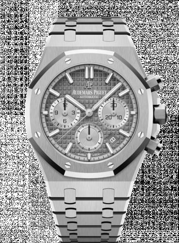 Audemars Piguet 26315ST.OO.1256ST.02 : Royal Oak Chronograph 38 Stainless Steel / Grey