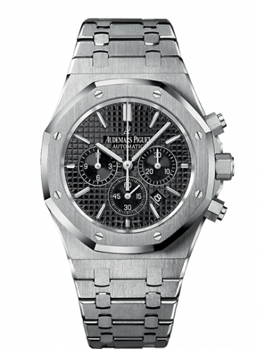 Audemars Piguet 26320ST.OO.1220ST.01 : Royal Oak Chronograph 41 Stainless Steel / Black