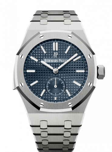 Audemars Piguet 26591TI.OO.1252TI.01 : Royal Oak Repeater Supersonnerie Titanium / Blue / Bracelet