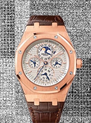 Audemars Piguet 26603OR.OO.D092CR.01 : Royal Oak 26603 Equation of Time  Pink Gold / Silver