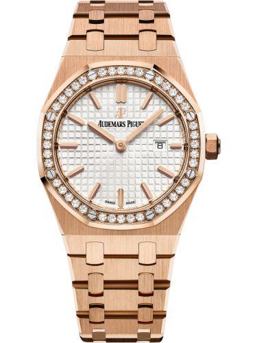 Audemars Piguet 67651OR.ZZ.1261OR.01 : Royal Oak 67651 Quartz Pink Gold / Silver / Bracelet