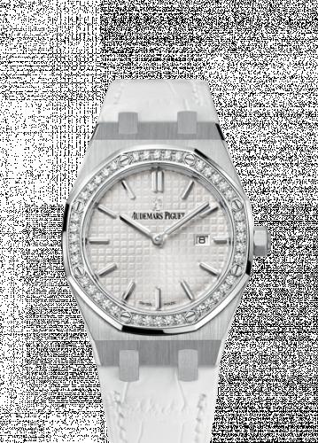 Audemars Piguet 67651ST.ZZ.D011CR.01 : Royal Oak 67651 Quartz Stainless Steel / Silver / Strap