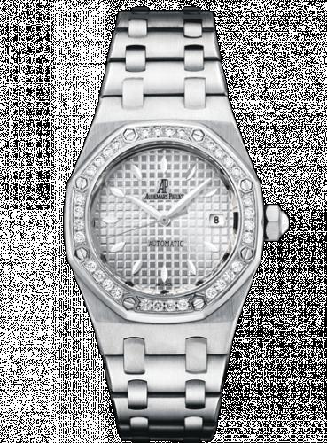 Audemars Piguet 77321ST.ZZ.1230ST.01 : Royal Oak Selfwinding 77321 Stainless Steel / Diamond / Silver / Bracelet