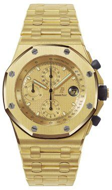 Audemars Piguet 25721BA.OO.1000BA.01 : Royal Oak OffShore 25721 Chronograph Yellow Gold / Gold