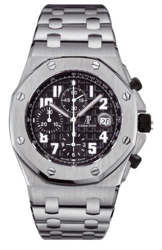 Audemars Piguet 25721ST.OO.1000ST.08 : Royal Oak OffShore 25721 Chronograph Stainless Steel / Black