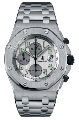 Audemars Piguet 25721TI.OO.1000TI.05 : Royal Oak OffShore 25721 Chronograph Titanium / Silver