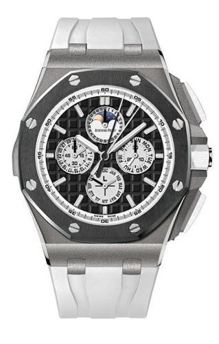 Audemars Piguet 26570IO.GG.A010CA.01 : Royal Oak OffShore 26570 Grande Complication Titanium / Ceramic
