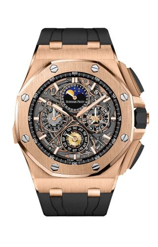 Audemars Piguet 26571.OR.OO.A002CA.01 : Royal Oak OffShore 26571 Grande Complication Pink Gold
