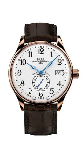 Ball Watch NM3888D-PG-LCJ-WH : Trainmaster Standard Time