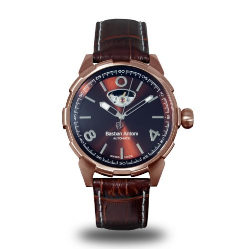 Bastian Antoni BA01.ROSE/BROWN.8719326505862 : Turbulent - Rose / Brown