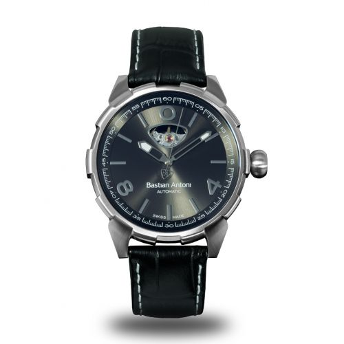 Bastian Antoni BA01.STEEL/BLACK.8719326505886 : Turbulent - Steel / Black