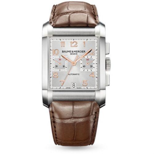 Baume & Mercier 10029 : Hampton Chronograph Silver