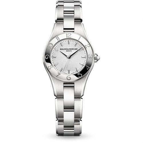 Baume & Mercier 10009 : Linea 27mm Quartz Silver / Bracelet