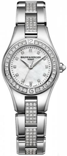Baume & Mercier 10092 : Linea 27mm Quartz Diamond