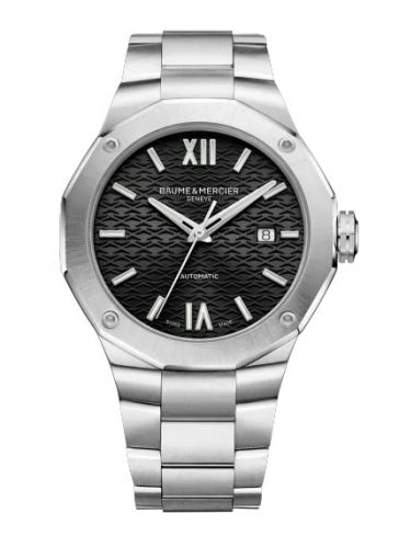 Baume & Mercier 10621 : Riviera 42 Stainless Steel / Black