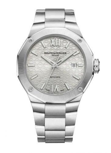 Baume & Mercier 10622 : Riviera 42 Stainless Steel / Silver