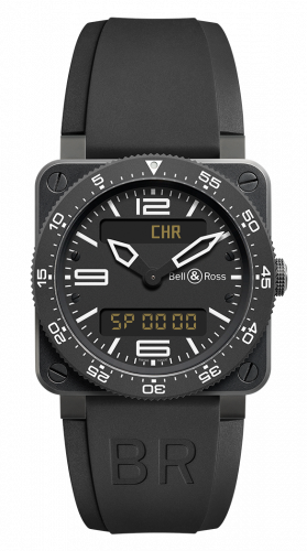Bell & Ross BR0392-AVIA-CA : BR 03 92 Type Aviation Carbon