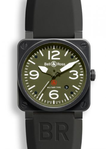 BR0392MILITARY : Bell & Ross BR 03 92 Military