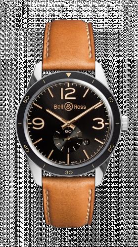 Bell & Ross BRV123-GH-ST/SCA : BR 123 Golden Heritage
