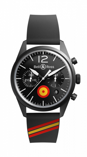 Bell & Ross BRV126-BL-CA-CO/ES : BR 126 Insigna ES Chronograph