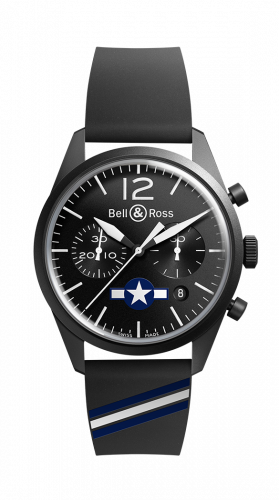 Bell & Ross BRV126-BL-CA-CO/US : BR 126 Insigna US Chronograph