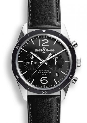 Bell & Ross BRV126BLBESCA : BR 126 Sport Chronograph