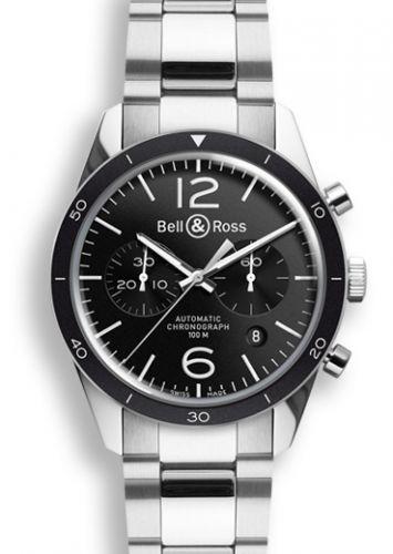 Bell & Ross BRV126BLBESST : BR 126 Sport Chronograph