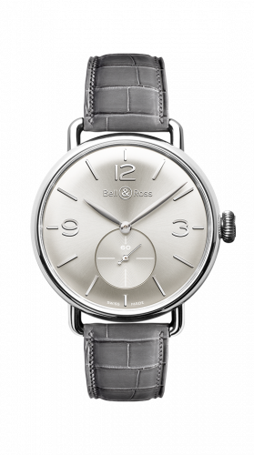 Bell & Ross BRWW1-ME-AG-SI/SCR : WW1 Argentium Silver