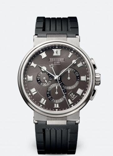 Breguet 5527TI/G2/5WV : Marine Chronograph 5527 Titanium / Grey / Rubber
