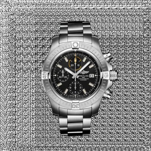 Breitling A13317101B1A1 : Avenger Chronograph 45 Stainless Steel / Black / Bracelet
