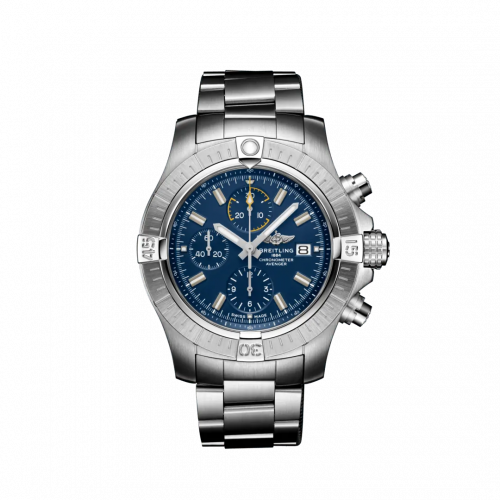 Breitling A13317101C1A1 : Avenger Chronograph 45 Stainless Steel / Blue / Bracelet