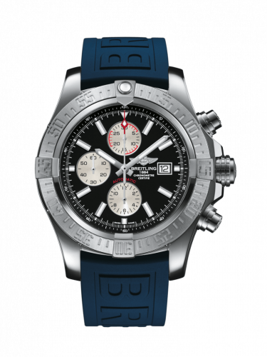 Breitling A1337111/BC29/160S/A20D.2 : Super Avenger II Stainless Steel / Volcano Black / Rubber / Folding