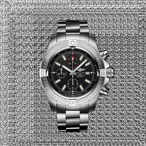 Breitling A13375101B1A1 : Avenger Chronograph 48 Stainless Steel / Black / Bracelet