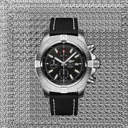 Breitling A13375101B1X2 : Avenger Chronograph 48 Stainless Steel / Black / Military / Folding
