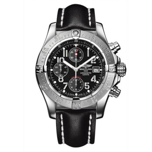 Breitling A1338012.B975.435X : Avenger Black / Calf
