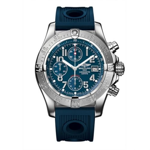 Breitling A1338012.C794.211S : Avenger Blue / Rubber