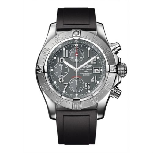 Breitling A1338012.F547.134S : Avenger Grey / Rubber