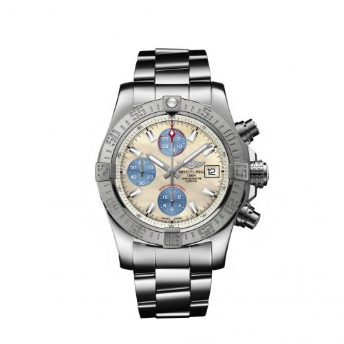Breitling A1338111/A808/170A : Avenger II Stainless Steel / Mother-of-Pearl Sky / Japan Special Edition