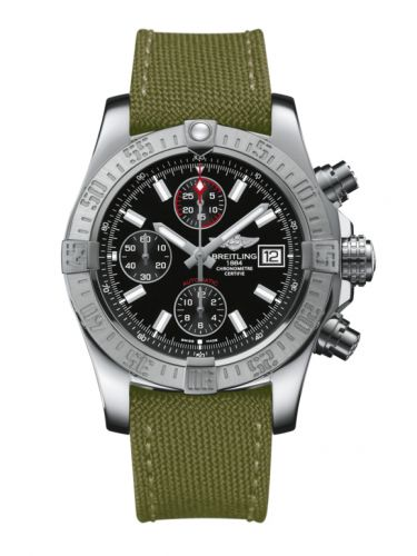 Breitling A1338111.BC32.106W : Avenger II Stainless Steel / Volcano Black / Military