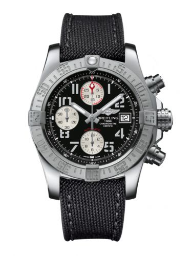 Breitling A1338111.BC33.109W : Avenger II Stainless Steel / Volcano Black / Military