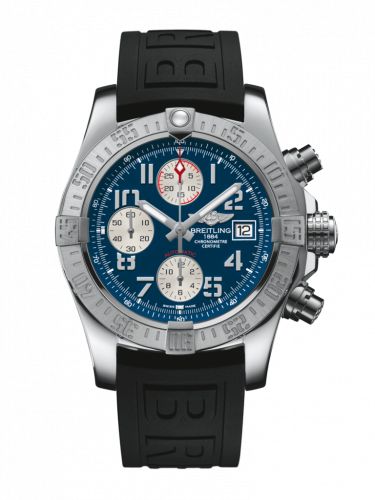 Breitling A1338111/C870/152S/A20S.1 : Avenger II Stainless Steel / Mariner Blue / Rubber / Pin