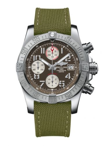 Breitling A1338111/F564/106W/A20BA.1 : Avenger II Stainless Steel / Tungsten Gray / Military / Pin