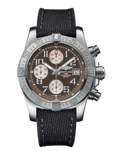 Breitling A1338111/F564/109W/A20BA.1 : Avenger II Stainless Steel / Tungsten Gray / Military / Pin