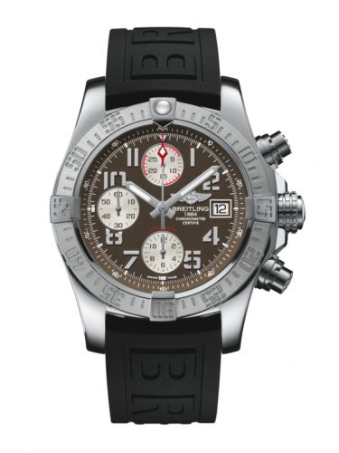Breitling A1338111/F564/152S/A20S.1 : Avenger II Stainless Steel / Tungsten Gray / Rubber / Pin